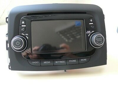 Fiat 500L Herstellung Radio 330 VP2 ECE  Neu New Bluetooth Touchscreen  Uconnect