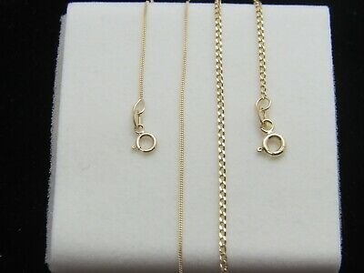 Real 10kt Gold Curb chain Real 10k gold chain ** Top Quality**