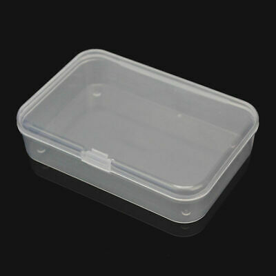 Plastic Storage Box Playing Cards Case Business Card Holder Card DECO Boxes N7V1