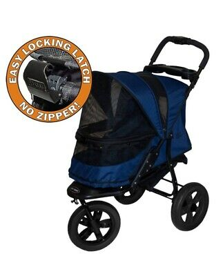 PET GEAR AT-3 DOG STROLLER JOGGING NO-ZIP MIDNIGHT RIVER up to 60 lbs.