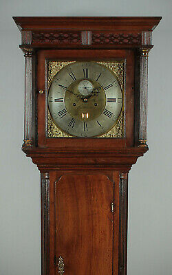 Antique 18th.c. Welsh Brass Faced Longcase Clock by John Owen of Llanrwst c.1770