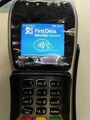 First Data FD-40 EMV PIN Pad for  Smart POS System