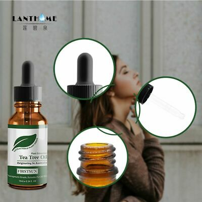 100% Natural Tea Tree Essential Oil Anti-wrinkle Extract Acne Removal Gift Scars