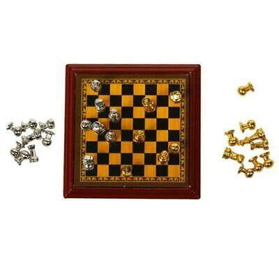 1:12 Scale Dollhouse Miniature Chess/Doll House Accessory Room Low LIving P F2E6