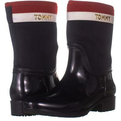 TOMMY HILFIGER DUCK Shoes rain Boots Size 8m New with box