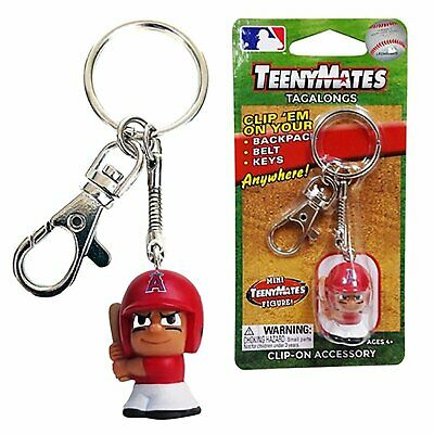 Los Angeles Angels of Anaheim Teeny Mates Keychain Tag Along Figure Baseball