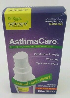 Dr. King's Asthma Care Temp relief of Asthma Symptoms 2oz. EXP 12/2019
