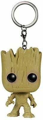 Funko Pocket Pop! Keychain Guardians Of The Galaxy Groot Action Figure New