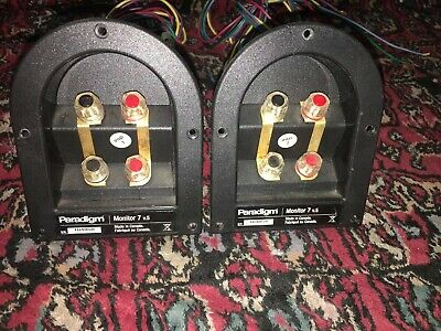 Paradigm Monitor 7 V.5 Crossovers Pair Excellent Condition