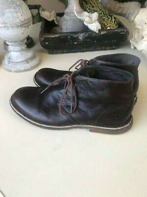 d10c7651fe1 MEN'S UGG 3275 Leighton Chukka Leather Boots Chocolate Size: 9 US ...