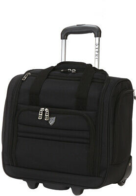Travelers Club 16 Rolling Underseater Carry-on/under seat restrictions Black New