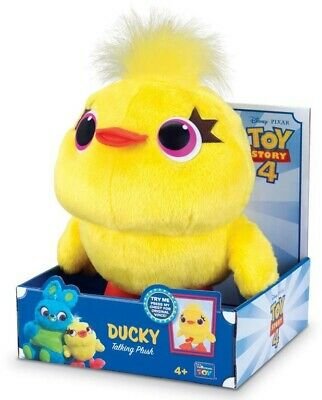 NEW Toy Story 4 Deluxe Talking Ducky 9Inch from Mr Toys