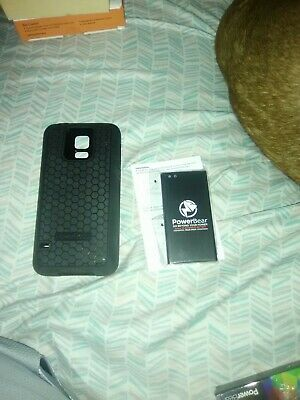 new concept 88c95 8ccec POWERBEAR SAMSUNG GALAXY S5 Extended Battery [7800mAh] & Back Cover ...
