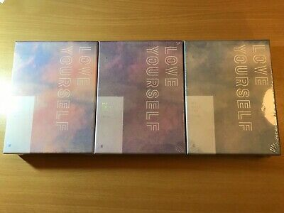 BTS OFFICIAL World Tour Love Yourself Seoul/New York/Europe DVD - New and Sealed