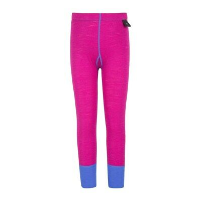 Mountain Warehouse Kids Thermal Pants Made from Merino Blend - Extra Warm