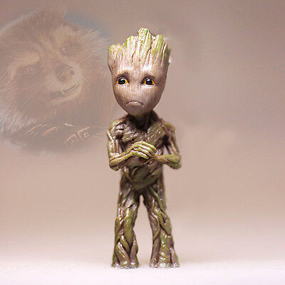 7,5CM Sad Abasement Little Baby Groot Guardians of the Galaxy 2 Figurine Figure