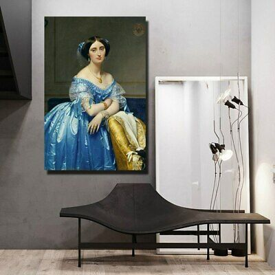 Jean Auguste Dominique Ingres Oil Painting Print Wall Art Decor (Unframed)