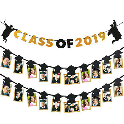 Personalised Graduation Banner GRA000/_4 Any Name and Photo Class of 2019