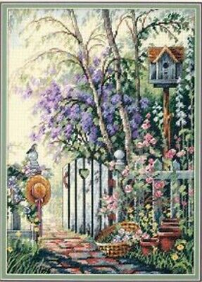 """DIMENSIONS """"SWEETHEARTS GATE""""CROSS STITCH KIT Kreuzstich STICKPACKUNG"""