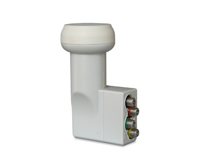 Fracarro UX-QT LTE Quattro LNB for use with Multiswitches [NEW TYPE] 287302