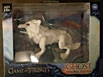 The Loyal Subjects Game of Thrones Ghost Dire Wolf Action Figure!-FREE SHIP!!