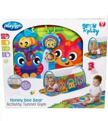 Playgo Honey Bee Bear Activity Tunnel Gym New In Box