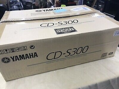 Yamaha CD-S300 Natural Sound Black Compact Disc Player - Remote - Brand New!