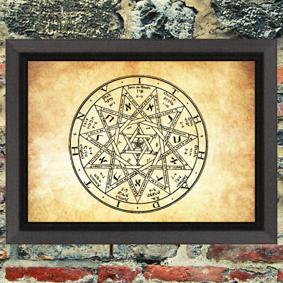 Old Gods Art Print Antique Effect Paper Demon Occult Witch Buy 2 Get 1 Free