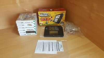 Super Mario Bros 2 Special Edition Nintendo 2DS  + Memory Card+6 games