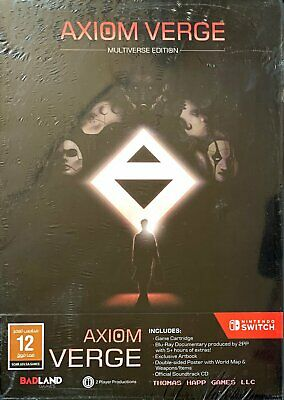 Axiom Verge - Multiverse Edition (Switch) (NEU & OVP) (UNCUT) (Blitzversand)