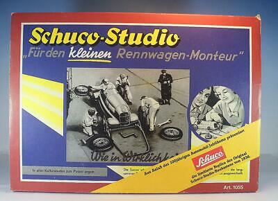 Schuco Studio Nr.1055 Montage Set Mercedes Silberpfeil in O-Box #1796