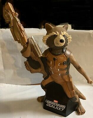 Rocket Raccoon Guardians of The Galaxy Coin Bank Marvel Groot Avengers X Men DC