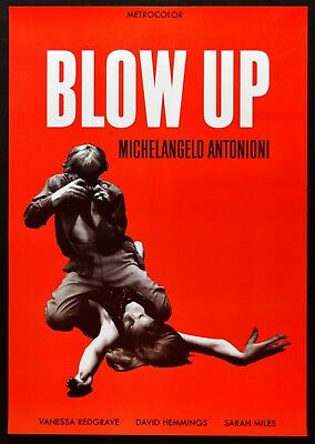 Poster Blow Up Michelangelo Antonioni Vanessa Redgrave Hemmings Miles @