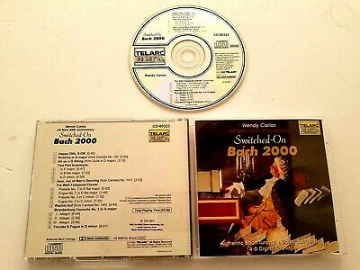 CD Switched On Bach 2000 Wendy Carlos (1040)