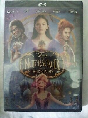 NEW!!!  Disney The Nutcracker And The Four Realms (DVD, 2019) SEALED FREE SHIP!!