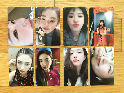 Red Velvet THE REVE FESTIVAL Mini Album DAY 1 Official Photocards Select Member