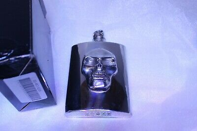 Pewter Skull Flask New Made in England Wentworth Sheffield