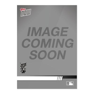 2019 Topps NOW HRD-7 Carlos Santana Cleveland Indians ~ Home Run Derby