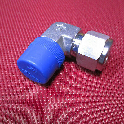 Ham-Let® 1/2 Tube OD x 1/2 NPT Male Pipe 90° ELBOW Connector 316 Stainless Steel