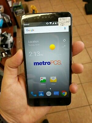 ZTE Z719DL ZMAX One LTE Simple Mobile 16 GB Smartphone - Gray