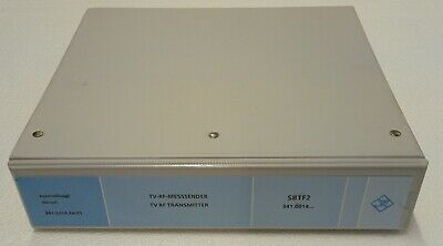 Rohde & Schwarz SBTF2 TV RF Transmitter Manual (341.0014...)