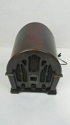 Vintage GE General Electric 7-4100JA Cathedral AM/FM Radio (TESTED) WORKING !!
