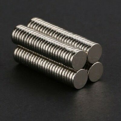 100 x Rare Earth Strong Magnets 20mm x 2mm Round Disc Neodymium N50 magnet