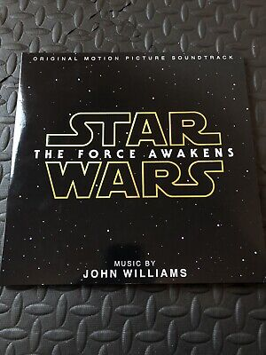 Disney Parks Vinyl Record Collection Star Wars the Force Awakens 2 disc set