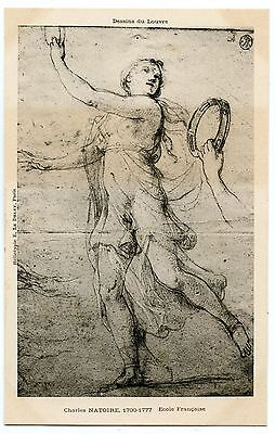 Art. Drawings of the Louvre. Drawings Louvre. Charles Natoire. French School