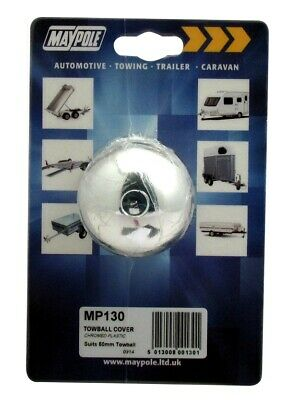 Towball Cover - Chrome 130 MAYPOLE