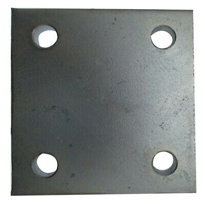 Drop Plate - 4 Hole - Zinc Plated - 4in.  232 MAYPOLE