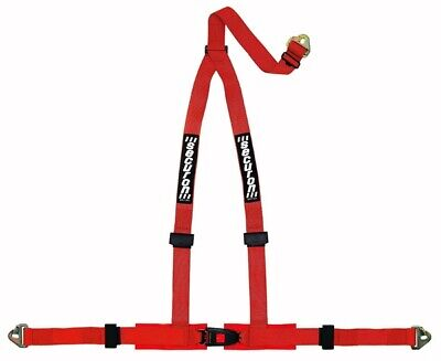 Harness - 3 Point & Snap Hooks - Red SECURON 605RED