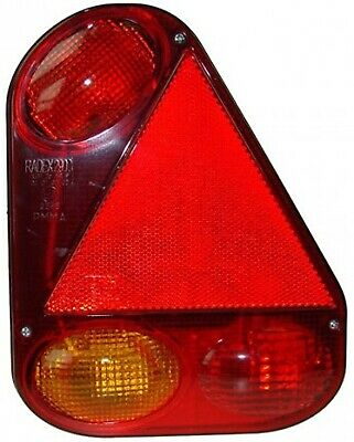 5 Function Right Side Rear Lamp - 9 Pin 7709BR MAYPOLE