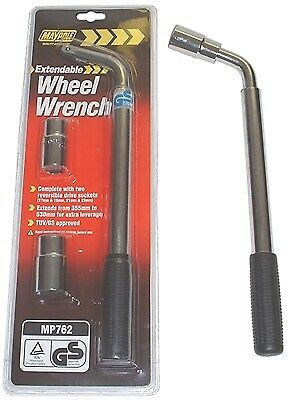 Extendable Wheel Wrench 762 MAYPOLE